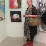 Künstlerin Petra Annemarie Schleifenheimer auf der Plassenburg
