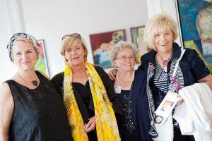 Ingrid Sperber besucht Petra Annemarie Schleifenheimers erste Einzelausstellung.