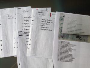 Salzburg, Sommerakademie, Checkliste, Timesystem