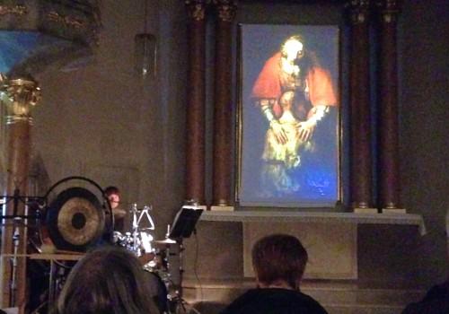 Uraufführung der Komposition 'Der verlorene Sohn' von Hand Gebhard in der Auferstehungskirche Fürth