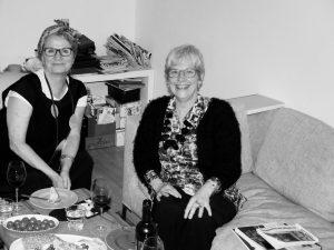 Die Künstlerinnen Isabelle Braud und PAS