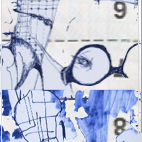 Kunstaktion zur Buchpräsentation 'Fürth-Porträt einer Stadt' von Andrea Himmelstoß