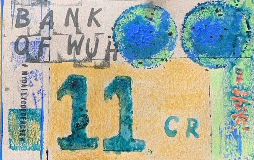 11 Cr Künstlernotgeld